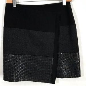 WHBM Black Mini Skirt